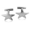 14k White Gold Cufflinks