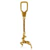18k Yellow Gold Keychains